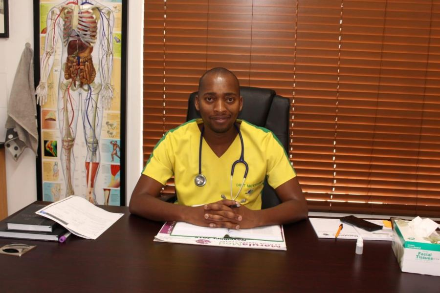 From a disadvantaged background in Thokoza to a healthcare owner in Phalaborwa - Dr. Thabo Motsoane