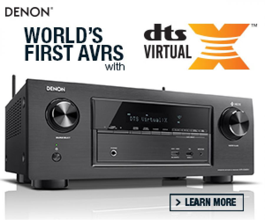 Denon® is proud to announce the world's first A/V Receivers