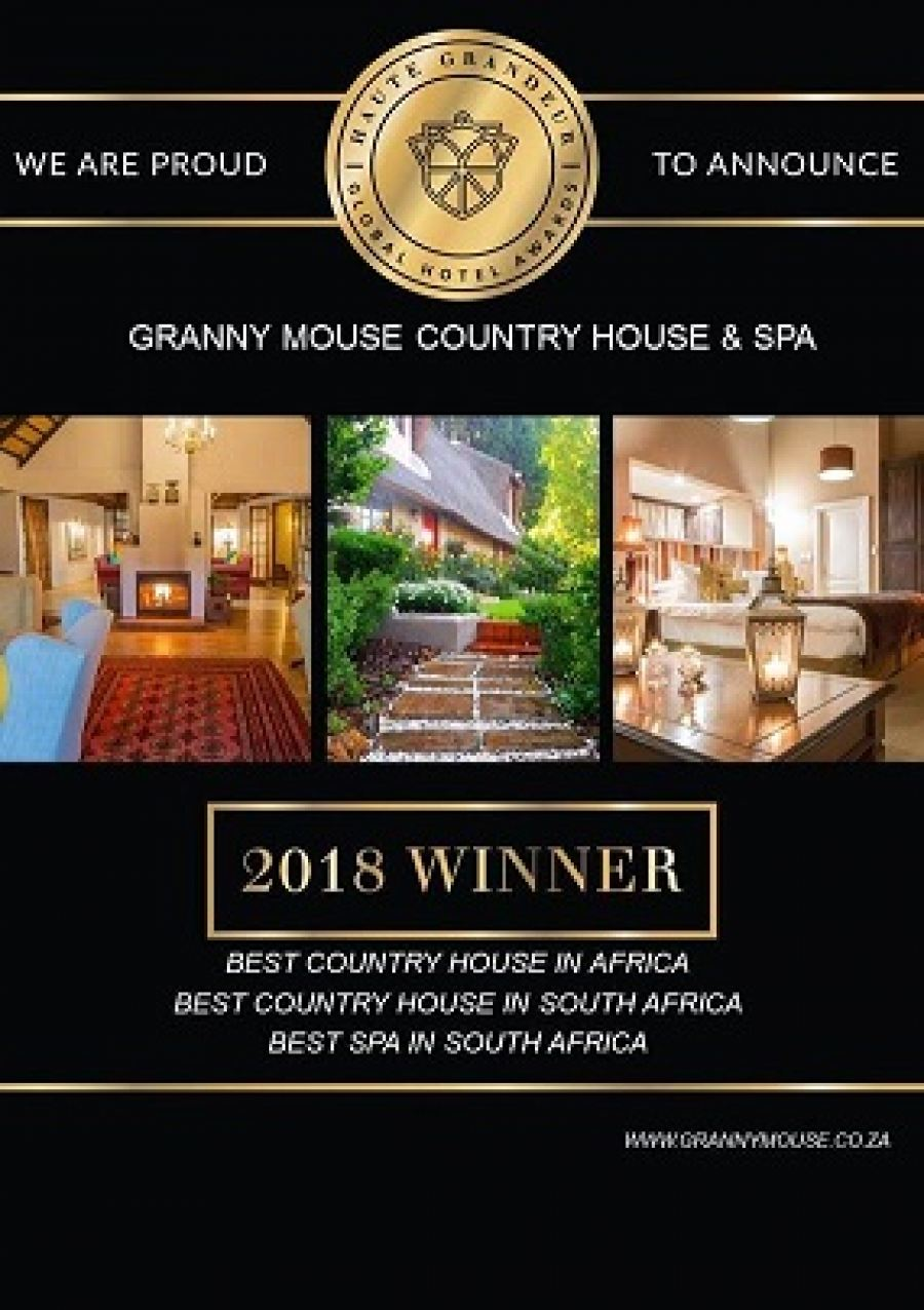 Granny Mouse Country House & Spa wins numerous Haute Grandeur Hotel awards