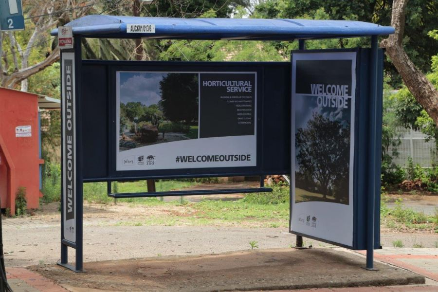 Johannesburg City Parks and Zoo's Out-of-Home campaign welcomes everyone outside