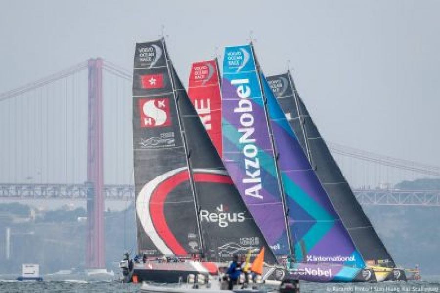 Volvo Ocean Race: Regus has all hands-on deck as Team Scallywag makes their way to Cape Town