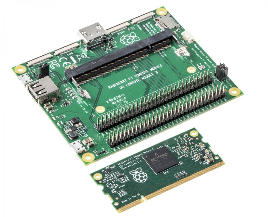 Raspberry Pi 3 Compute Module delivering low-cost development capabilities