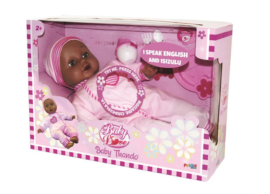Prima Toys launches Baby Thando