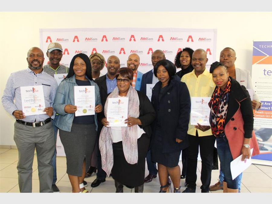 Afrisam Creates a Future of Possibilities for 24 SMMES