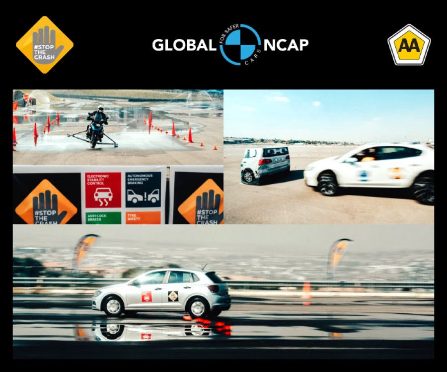 #StopTheCrash Campaign for Car and Motorcycle Safety Launches in South Africa