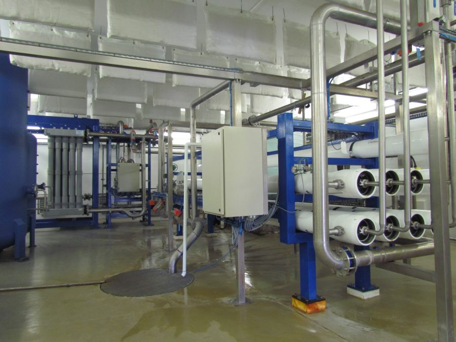 The bulk water infrastructure has 19 pump stations and the bulk wastewater infrastructure has 36 pump stations.