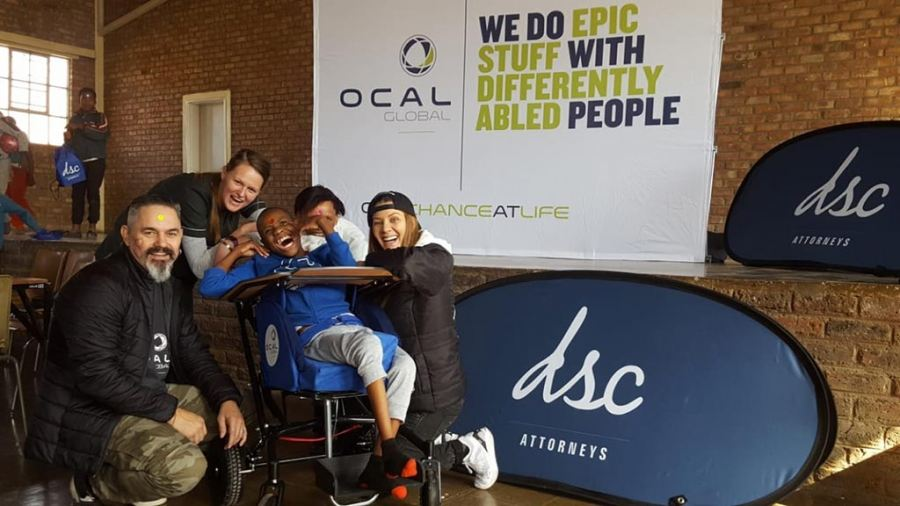 DSC Attorneys and OCAL Global visit children with disabilities in Northern Cape