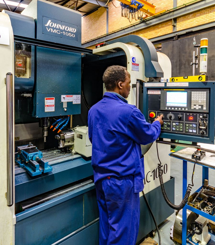 : It has been proven that when conducting volume-based projects, CNC machines                 produce an increased quantity of machined parts with a greater accuracy in a fraction of the time.