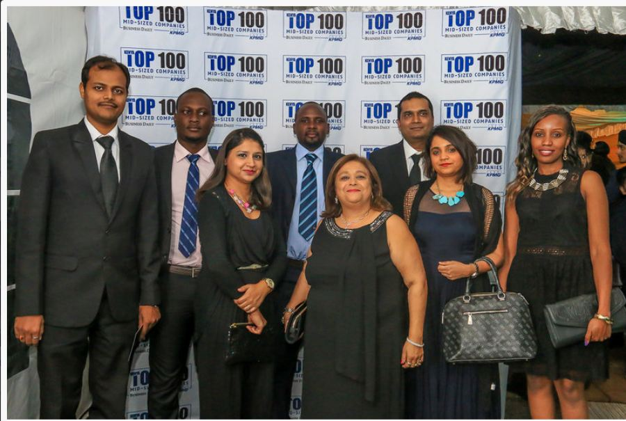Bluekey Kenya branch at Kenya's Top 100 Mid-Sizes Businesses