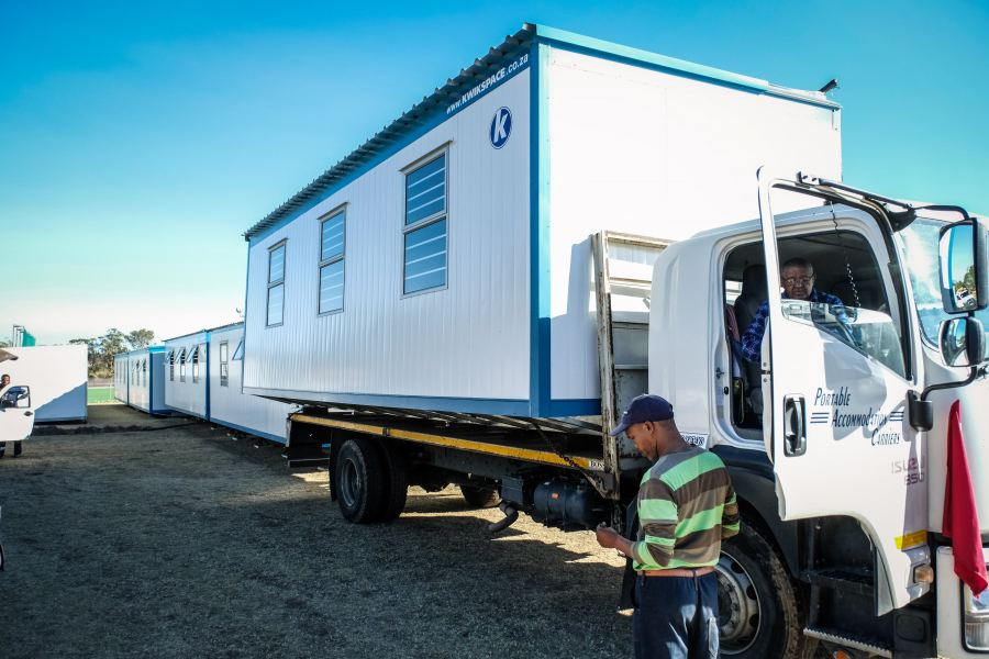 Kwikspace classrooms are fully mobile