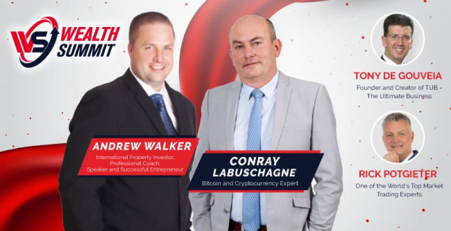 Conray Labuschagne & Andrew Walker to headline the Wealth Summit, 3 City Tour