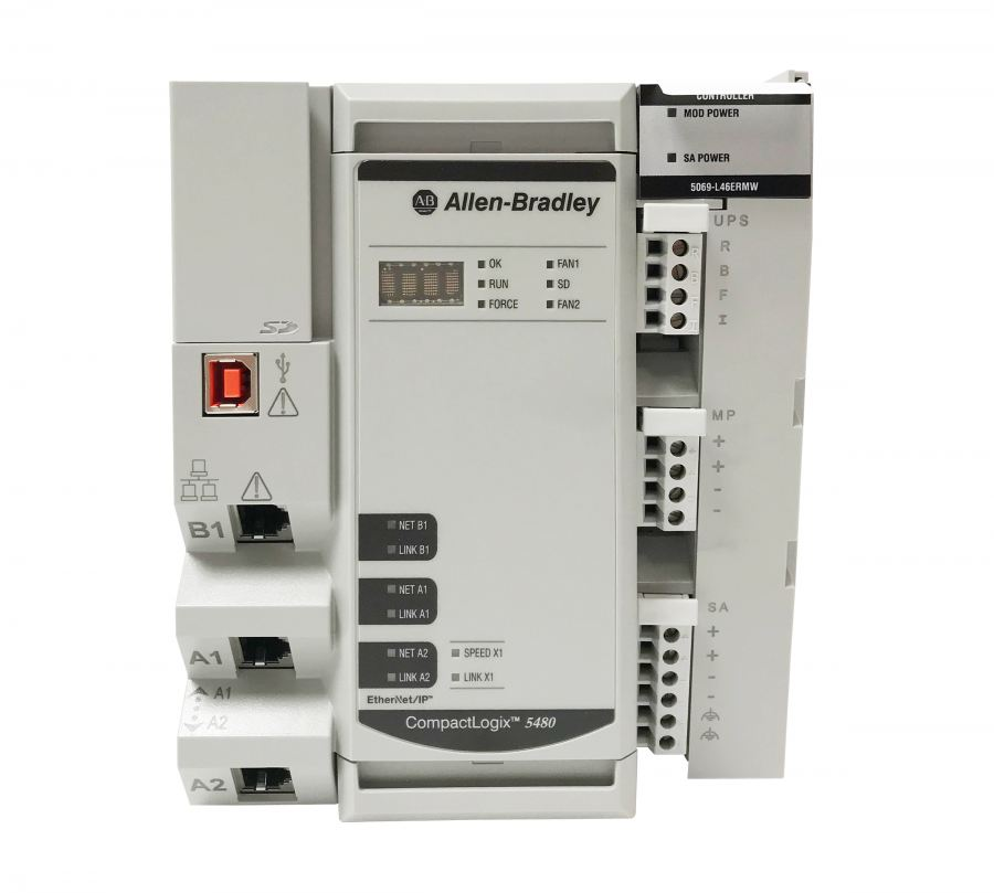 Allen-Bradley CompactLogix 5480 controller combines Logix control and Windows-based computing in one platform