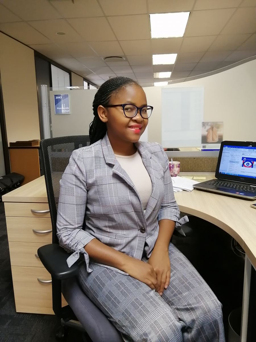 Engen's Busisiwe Mkhungo finds her wings this Youth Month