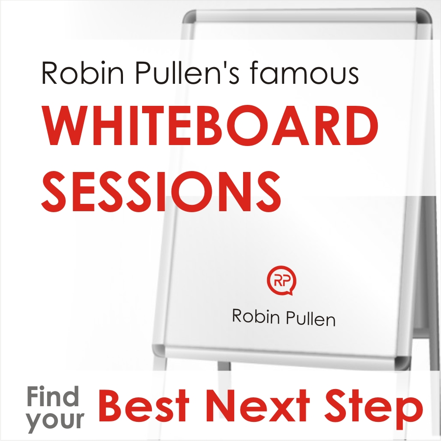 Robin Pullen's famous Whiteboard Sessions