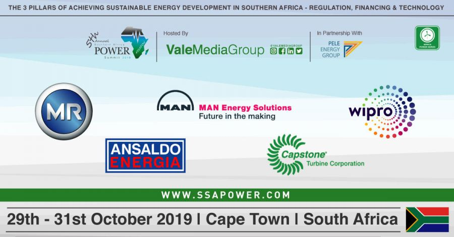 A fantastic line up of sponsors confirmed for the upcoming 5th Annual Southern Africa Power Summit 2019 #SSAPOW19!