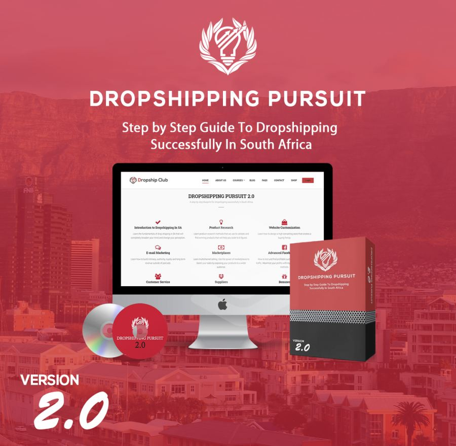 South Africa's First Dropshipping E-learning Platform