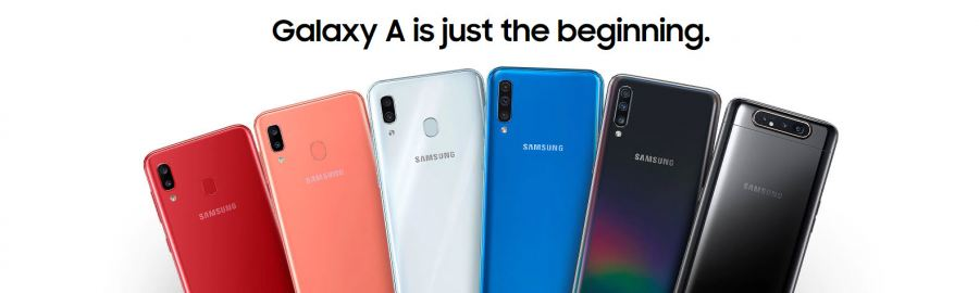 The Samsung Galaxy A series is a line of mid-range smartphones manufactured by Samsung Electronics