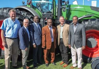 Fendt tractors launch in South Africa at NAMPO 2017