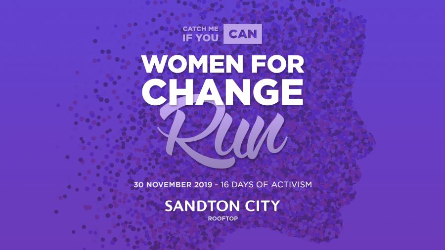 Sandton City hosts the Woman for Change Run to drive awareness on violence against women and children