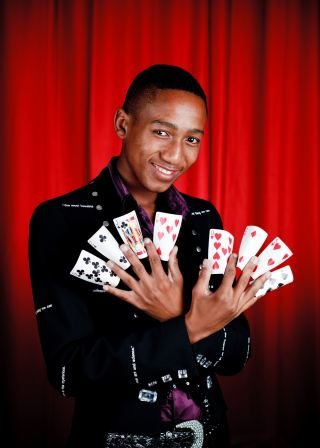 Renowned South African magic champion and local Coco Cola brand ambassador Olwethu Dyantyi will be heading up the College of Magic's National Lotteries Commission funded 'Hope in Flight' community programme in the Helderberg area.