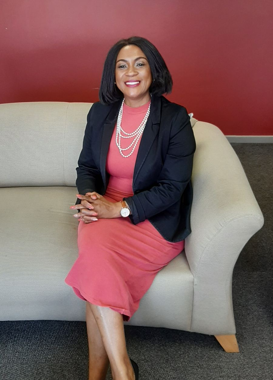 Portia Mkhabela, Manager at the Afroteq Academy
