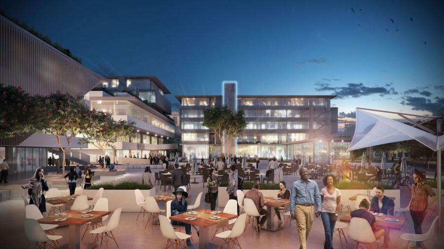 Park Square's design is reminiscent of famous European piazza's, complete with café culture. With 36 000 square meters of P and A Grade office and 4 000 square meters of retail space, the development will take the concept of work where you play and play where you work into the future.