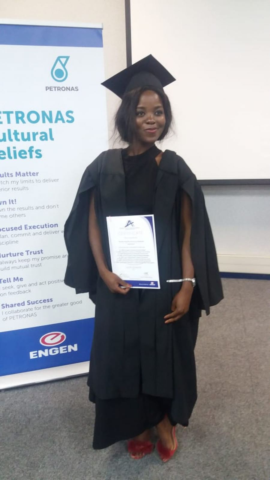Engen helps Seluleko Shabalala beat the odds