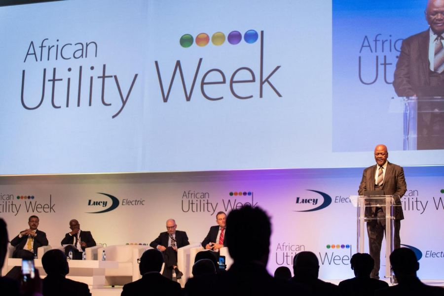 SA energy minister Jeff Radebe addresses African Utility Week